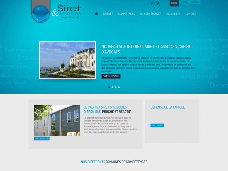 Siret et Associés : Cabinet d'avocats 35 ans d'expérience