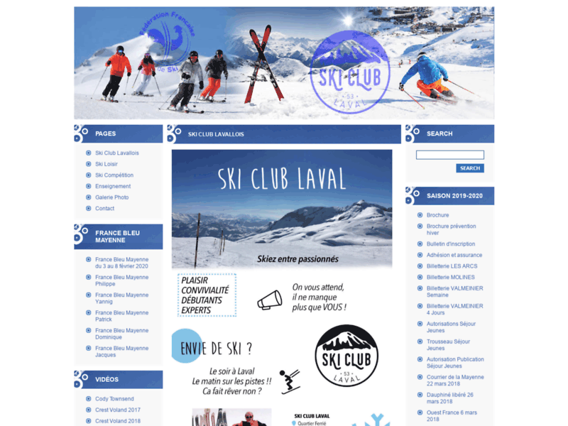 Ski Club Lavallois - www.skiclublaval.fr