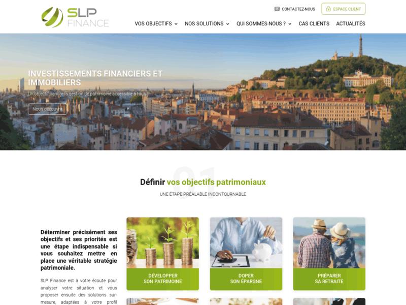 SLP Finance Gestion de Patrimoine Indépendant