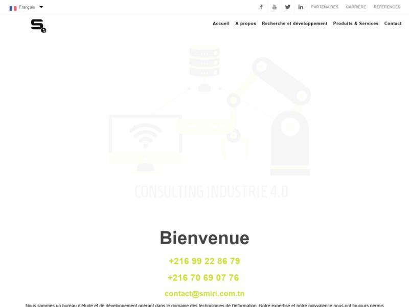 Création Site Web Tunisie Smiri Engineering