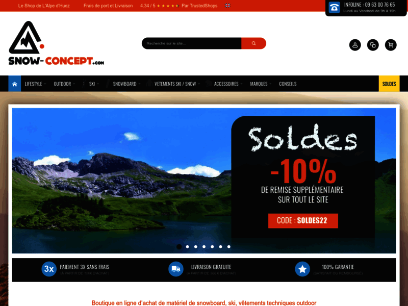 Snow Concept, snowboard Burton