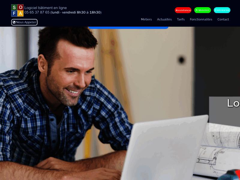 Logiciel de gestion en ligne pour les artisans du bâtiment