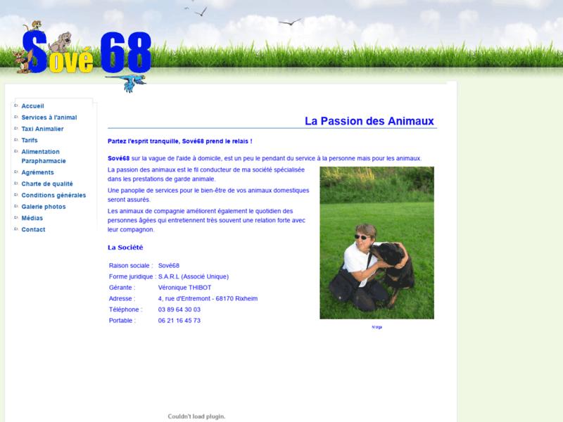 SoVé68, garde d'animaux de compagnie