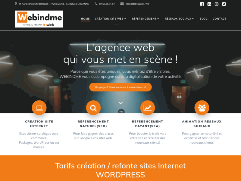 Sowink 77, agence web en Seine-et-Marne