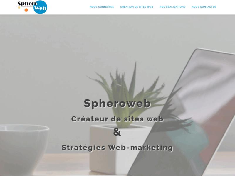 Spheroweb, création de site internet à Cergy