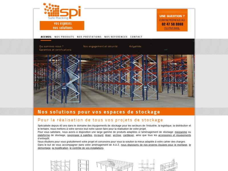 SP.ingenierie aménage les espaces de stockage