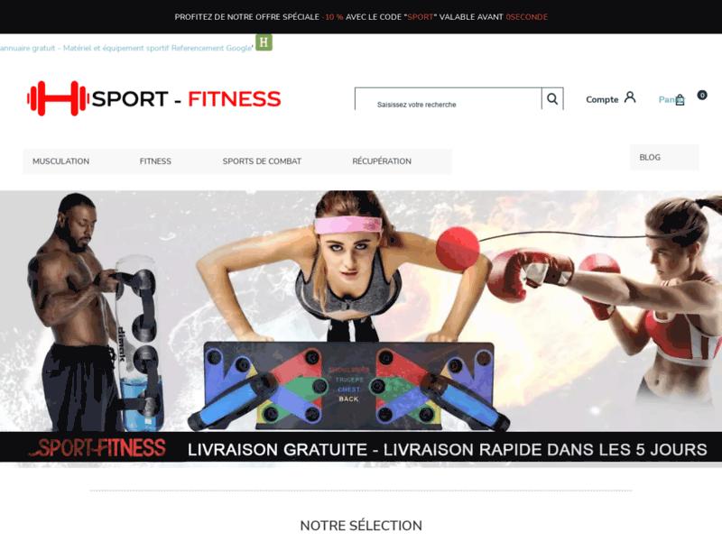 Sport Fitness, accessoires de fitness et musculation