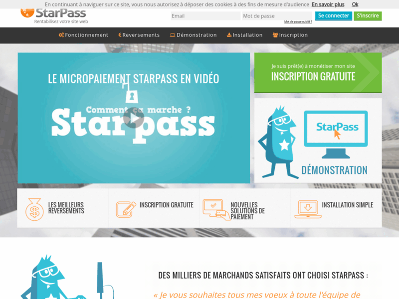StarPass micropaiement : solution de paiement sécurisé