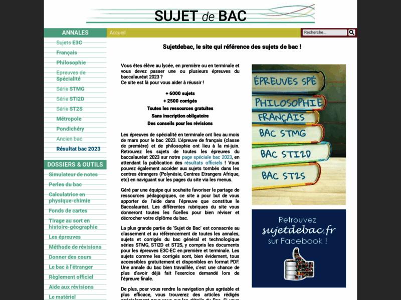 Baccalauréat : réviser avec des annales du bac