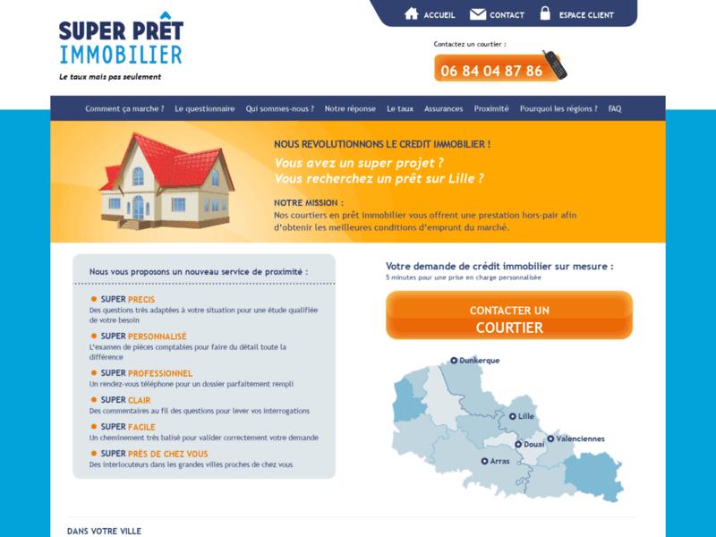 Super Prêt Immobilier, courtiers à Lille et Nord Pas-de-Calais