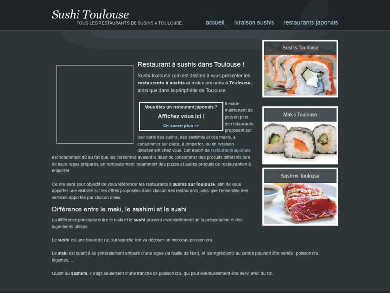 Sushi Toulouse