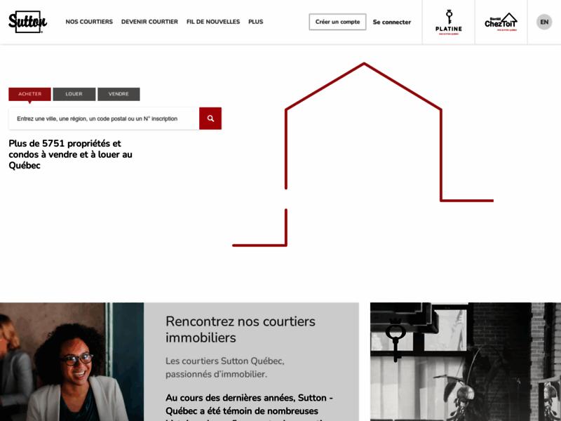 Sutton Québec - Maisons à vendre