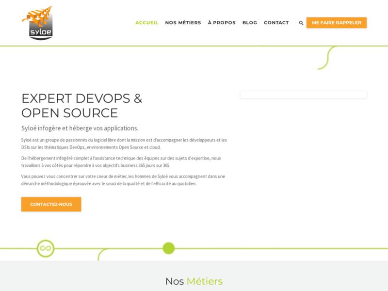 Syloé, votre partenaire DevOps et Open Source