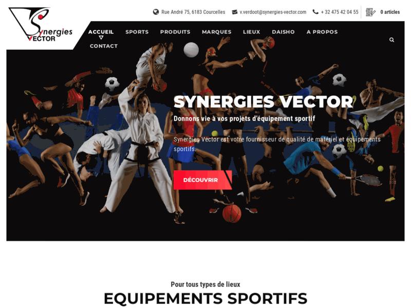 Synergies Vector, votre fournisseur belge de matériel et équipements sportifs