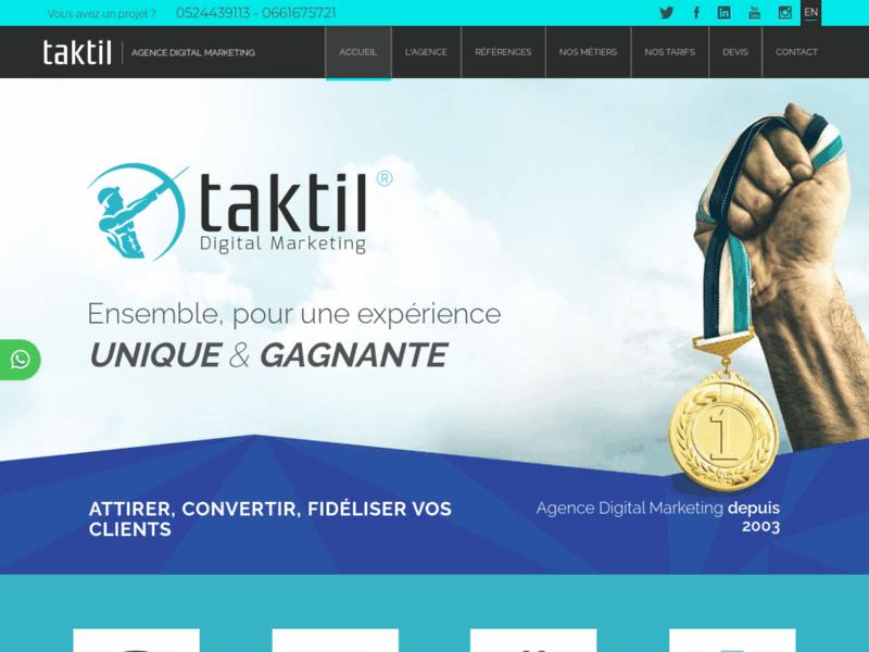 Site internet Marrakech