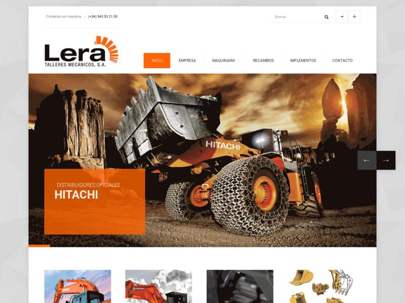 Lera Talleres, Location Engins de chantier