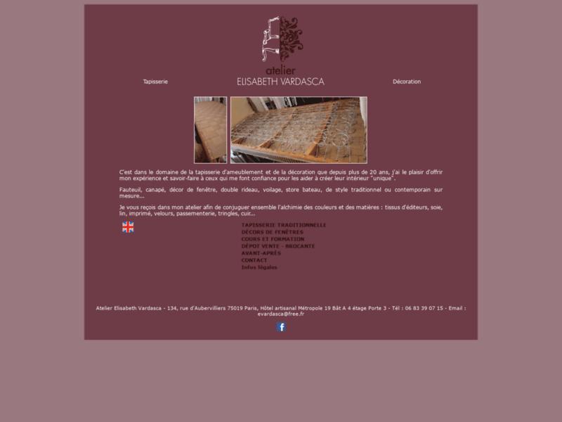 Tapisserie et décoration : Atelier Vardasca