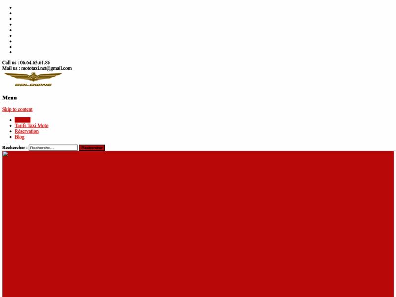 Taxi moto prestige