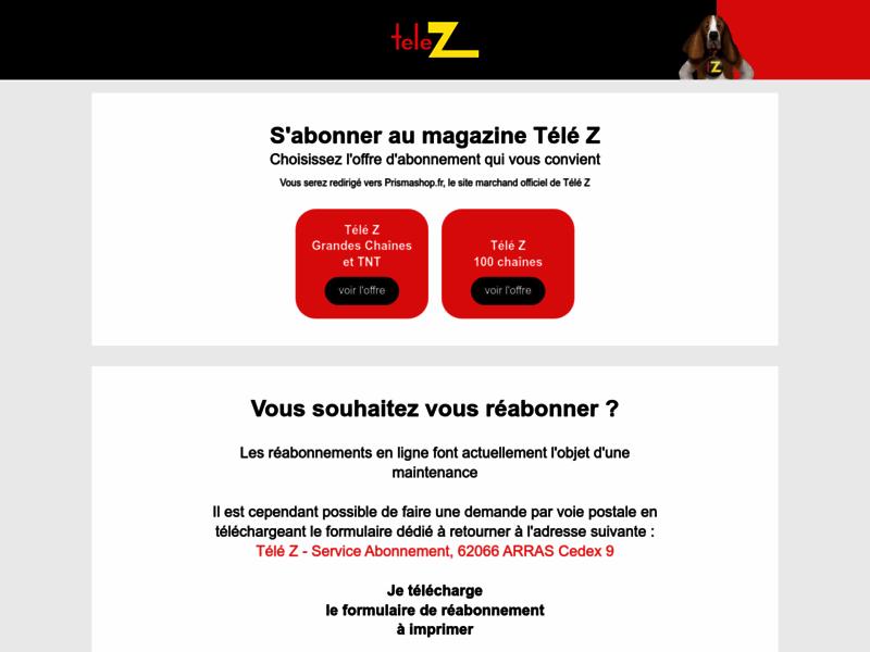 Télé Z, programme et actualités TV
