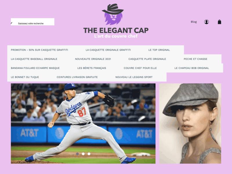 The Elegant Cap, spécialiste de la casquette