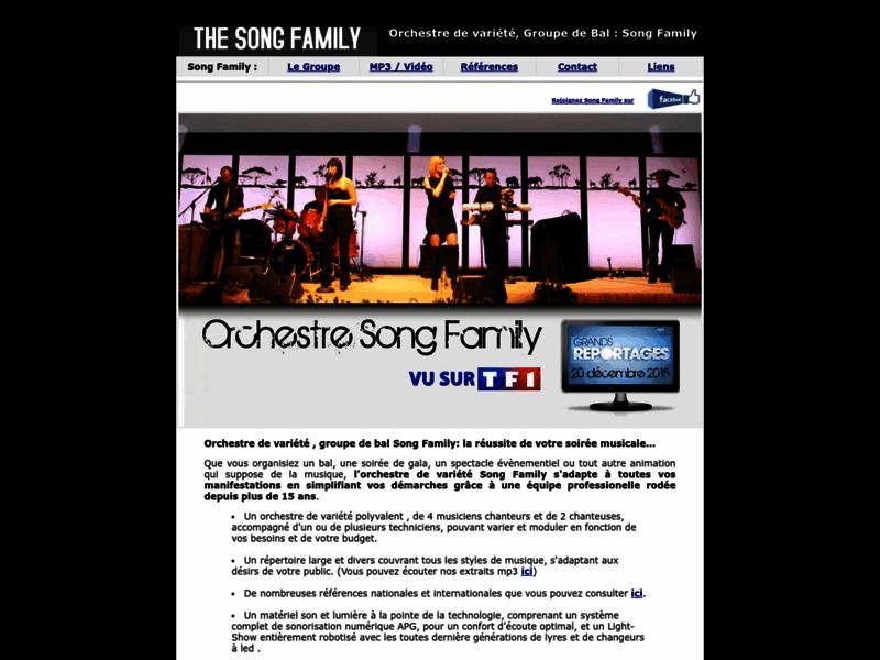 Song Family l'orchestre de variété internationale