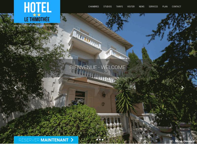 Hotel thimothée 2 étoiles à St-Raphaël