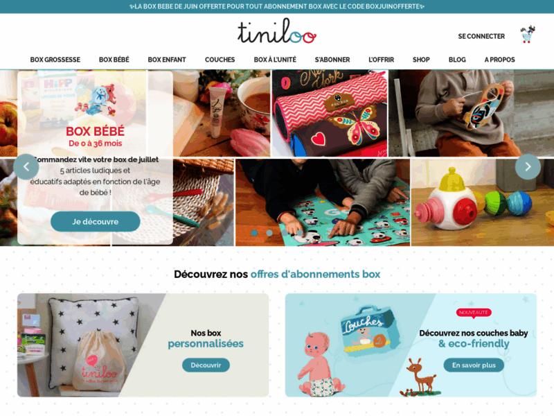 Tiniloo, box surprise pour les petits et les grands