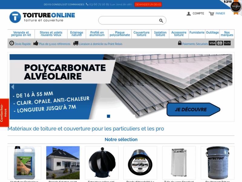 Toiture Online, toiture et couverture
