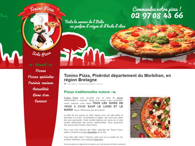 Restaurant Italien, Tonino-Pizza 85120