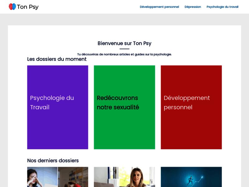 TonPsy - Psychologie en ligne