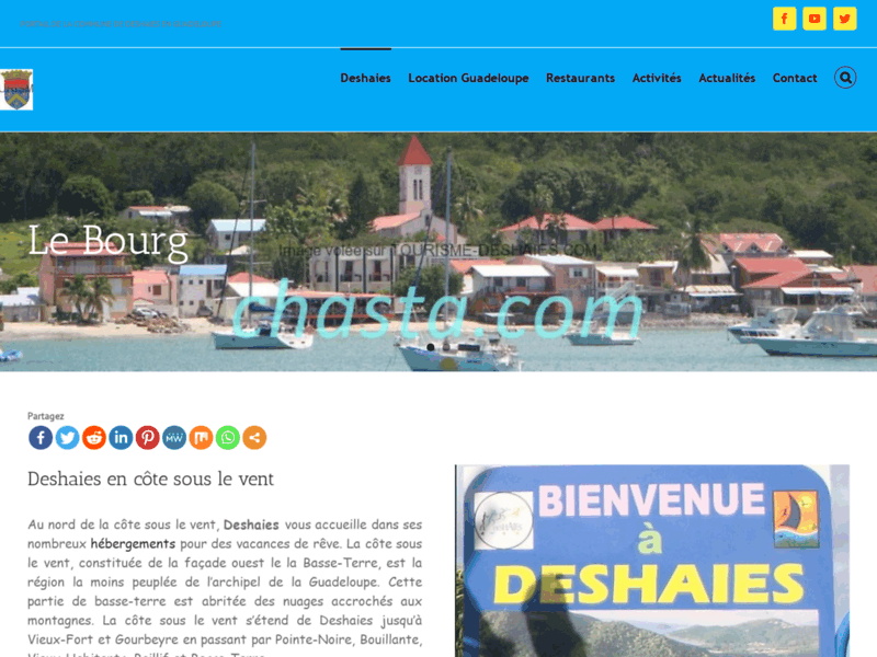 Tourisme Deshaies