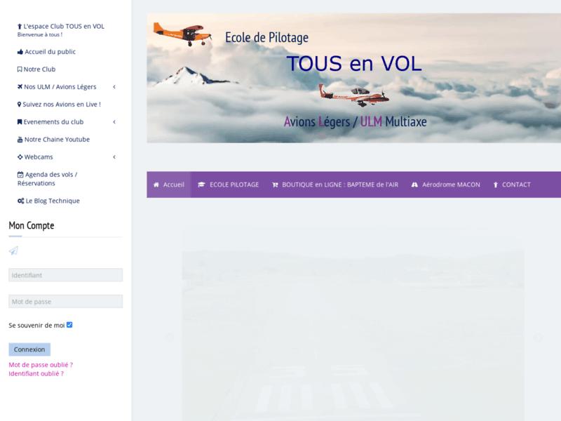 Ecole Pilotage ULM Multiaxe