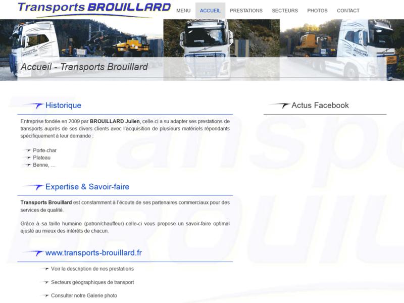 Transports Brouillard - Transport exceptionnel en Savoie Rhone-Alpes