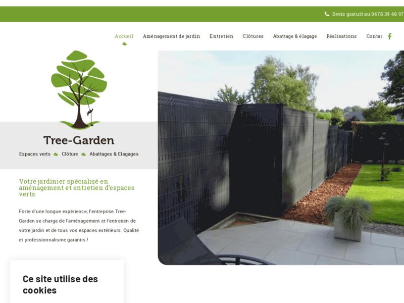 Aménagement jardin Brabant Wallon