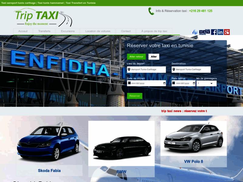 trip taxi - taxi tunisie