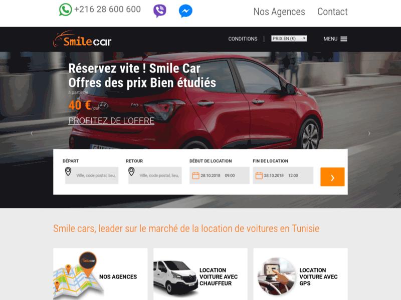 Rent a car Tunisie