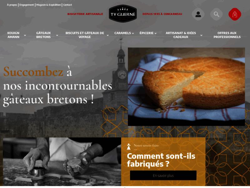 Ty Guerné :  Biscuiterie artisanale bretonnes