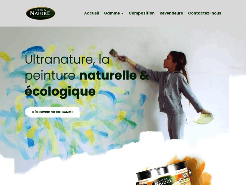 Peintures naturelles et écologiques