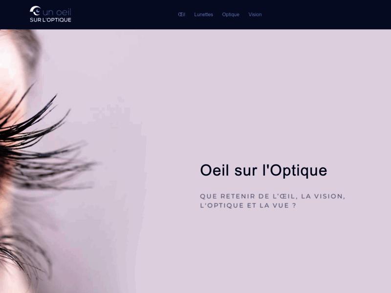 Un Oeil sur l'Optique : la Vision à perte de Vue