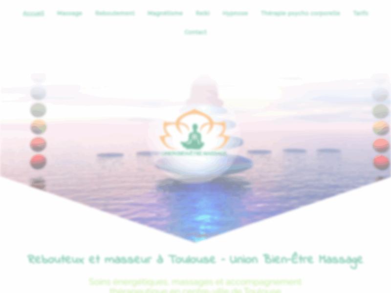 Union bien être massage