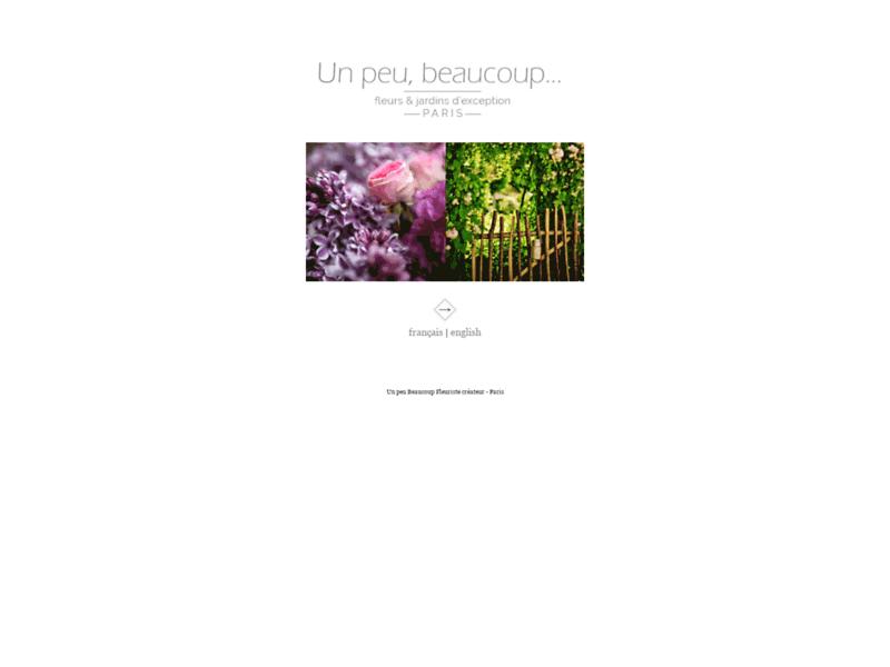 Un peu Beaucoup - Paris