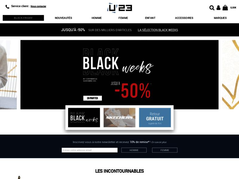 Usine23.com, boutique de chaussures en ligne