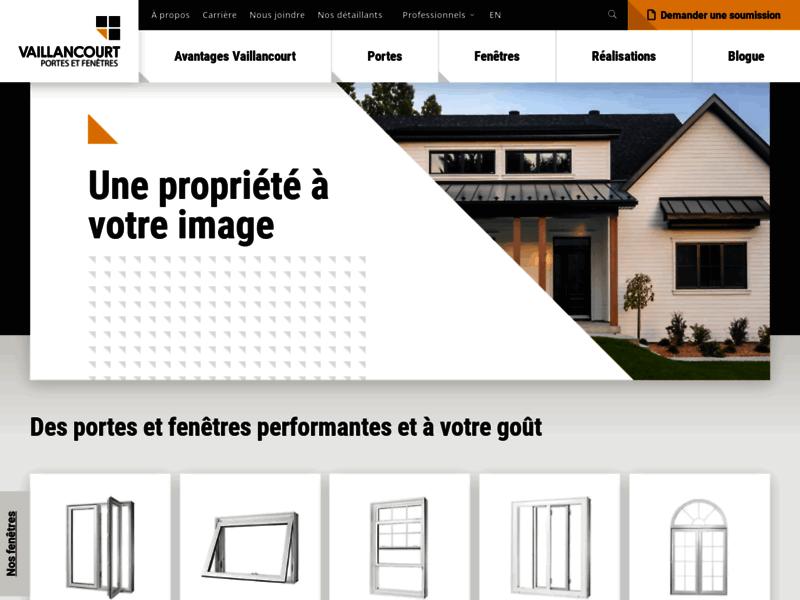 Vaillancourt Portes et Fenêtres Sherbrooke