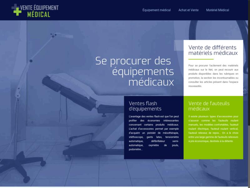 VE Medical : vente équipement médical France