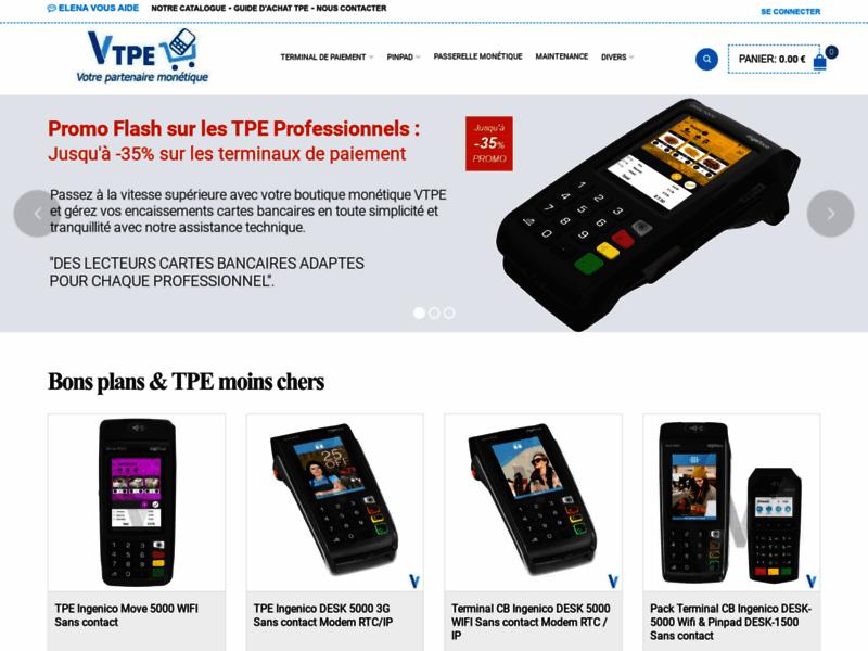 Boutique de terminaux de paiement Vtpe