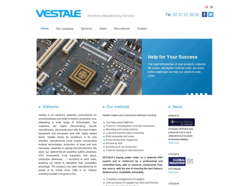 Vestale, fabricant de carte électronique