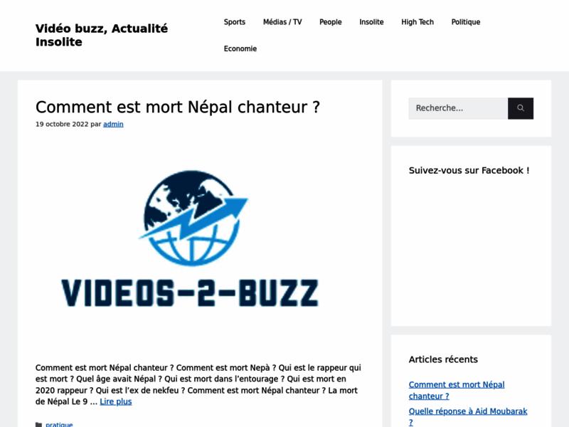 Vidéos Buzz : Videos-2-Buzz.fr