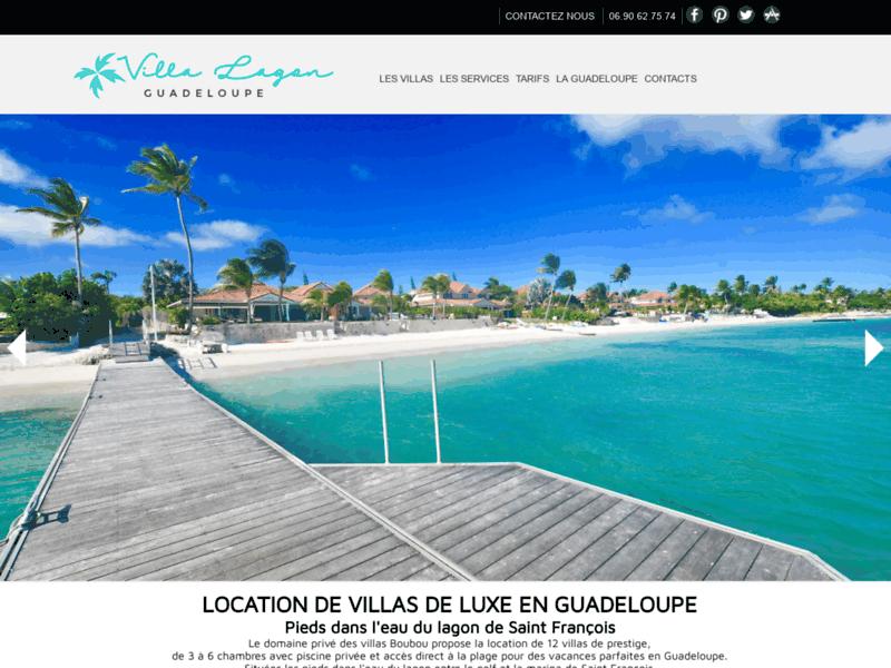 Domaine Villa Boubou, location de villas de luxe en Guadeloupe