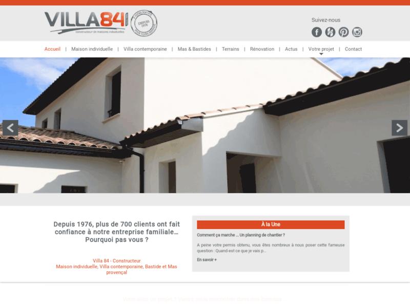 Villa 84 : constructeur de maison sur mesure dans le Vaucluse