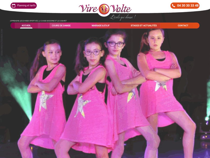 Virevolte, votre Ecole de Danse à Aix en Provence